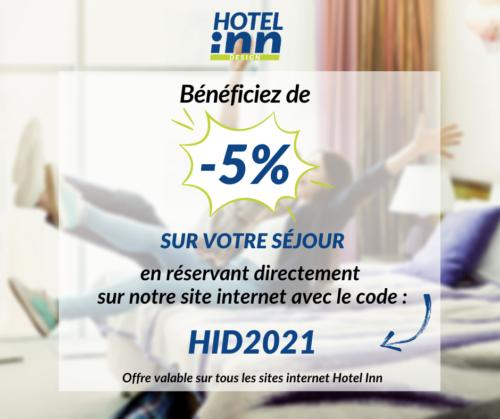 hotel inn Rochefort code promo