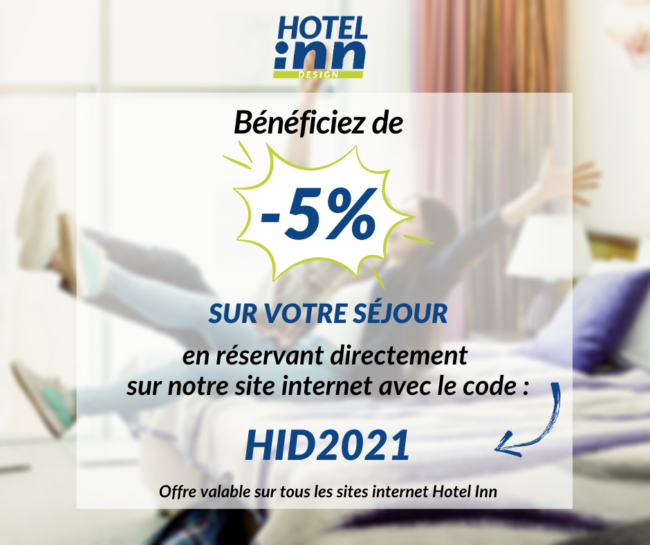 Code promotionnel 2021 Hotel inn France